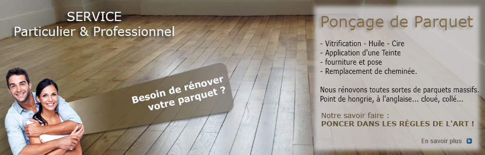 Rénovation de Parquet: