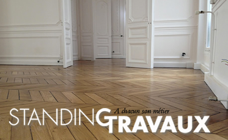 Poncage parquet r novation parquet massif paris idf for Parquet renovation